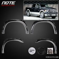 For 02-08 Ram 1500 03-09 Ram 2500 3500 Pocket Bolt Rivet Fender Flares Smooth