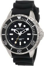 Nautica Men's Mega Pro Diver / NMX 650 Black Dial Resin Watch N18630G