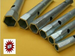 Long Reach Socket Tube Spanners Wrenches Set for Plumbing Tap Nuts Fitting Tool