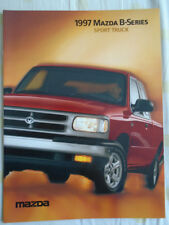 Mazda B Serie Sport Camión Folleto 1997 EE. UU. del mercado