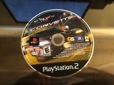 Corvette (Sony PlayStation 2 PS2) WORKS / NO TRACKING / DISC ONLY
