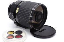 Canon FD Sigma mirror tele photo 600mm 1:8 firmemente distancia focal espejo tele objetivamente