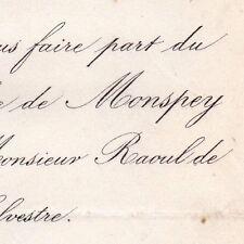 Marie Alice De Monspey La Beuvrière 1869 Raoul De Brach