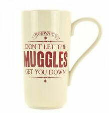 Harry Potter MUGGLES Hogwarts Crest TALL LATTE MUG 450ml
