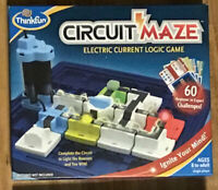 Think Fun - CIrcuit Maze  Electric Current Logic Game (Missing Pieces) -B23
