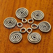 Silver Plated 6 Charms Tibetan Nepalese Handmade Tibet Nepal CH535