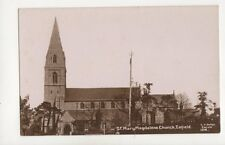 St Mary Magdalene Church Enfield [1216] Vintage RP Postcard Hodge 248b