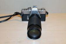 MINOLTA SRT 202 35mm Aetna Rokunar 80-200mm Lens