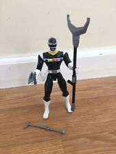 Power Rangers in Space Black Lightstar Power Ranger Figure 1997 Bandai