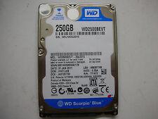 """WD Scorpio Blue 250gb WD2500BEVT-35A23T0 2061-771672-F04 AC 2,5"""" SATA"""
