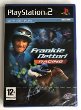 PS2 Frankie Dettori Racing (2006), UK Pal, Brand New & Sony Factory Sealed