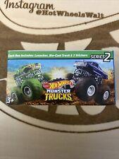 2020 Hot Wheels Mini Monster Trucks #10 Bigfoot Series 2 Sealed Box