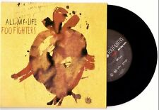 """Foo Fighters """"All My Life"""" 7"""" US version OOP Nirvana Sunny Day Real Estate"""