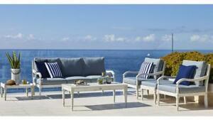 Marie - 6 Piece Outdoor Sofa Set - Solid Eucalyptus Timber