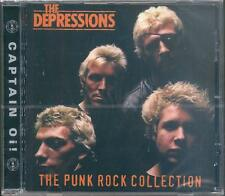 The Depressions Punk Rock Collection CD NEW SEALED Living On Dreams+