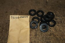 YAMAHA GENUINE RC100 KT100 CART   PAIR OF CRANK SHAFT SEALS 93102-20N03 NOS