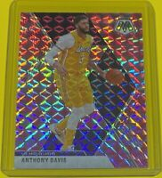2019-20 Panini Mosaic Anthony Davis CAMO PINK PRIZM Los Angeles Lakers #18 SP 🔥