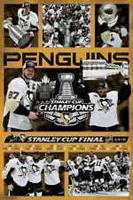 Pittsburgh Penguins 2016 Stanley Cup CHAMPIONS CELEBRATION Commemorative POSTER