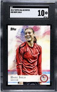2012 Topps USA Olympics HOPE SOLO Soccer #50 Gem Mint SGC 10! HOT🔥 Low POP