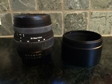 Sigma 28 -70 mm Zoom lens f/2.8-4.0 for Nikon AF-MF sun shade, instructions, box