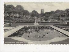 Kingsnorth Gardens Folkestone 1962 Postcard 574a