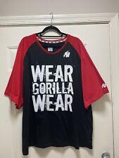 Gorilla Wear Mens Fitness Activewear Body Building T Shirt Sz 4Xl