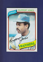 Ruppert Jones 1980 TOPPS Baseball #78 (NM) Seattle Mariners