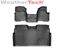 WeatherTech Floor Mat FloorLiner - Ford F-150-SuperCrew OTH -2010-2014-Black