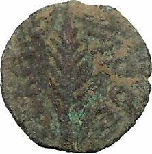 Porcius Festus  Jerusalem Nero Ancient  Greek / Roman Coin Palm branch   i36710
