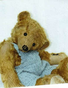 Mohair/ Bear Antique Style Pattern 11.5 inch