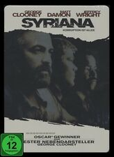 DVD SYRIANA - STEELBOOK - alte FSK LIMITED EDITION - GEORGE CLOONEY + MATT DAMON