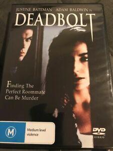 DEADBOLT DVD (PAL, 1992) Free Post!!