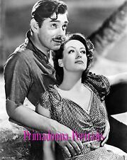 "JOAN CRAWFORD & CLARK GABLE 8X10 Lab Photo 1940 ""STRANGE CARGO"" Romantic"
