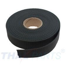 10m Gurtband 30mm Breit ca. 1,6mm stark - dunkelgrau Polypropylen Taschengurt