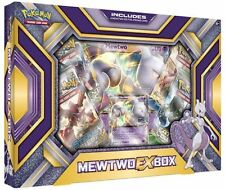 Mewtwo EX Box Pokemon TCG Collection Evolutions Sealed 4 Booster Packs and Promo