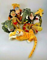 Disney Das Dschungelbuch 7 Plüsch Figuren Sammlung Komplett RAR Simba