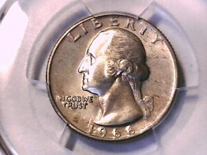 1966 P Washington Quarter PCGS MS 64 40299395