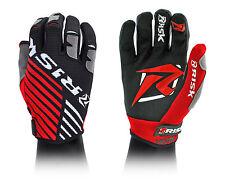 Risk Racing ventilar Motocross Guantes Rojo Negro Grande Mx
