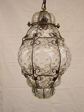 Laterne Hängelampe Deckenlampe Kronleuchter Landhausstil Glasballon