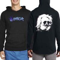 Jerry Garcia Grateful Dead Hoodie [2 Sides] New Men's Longsleeve Hoodie
