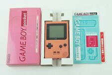 Nintendo Gameboy Pocket Pink Console GBP Box From Japan