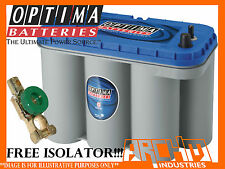 OPTIMA D31M BLUE TOP BATTERY ,RV,BOAT,4WD,MARINE