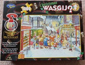 "WASGIJ 1000 Piece Jigsaw ""Christmas Puzzle"" No.4"