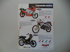 advertising Pubblicità 1991 MALAGUTI RST 50 SPECIAL/ENDURO MRX 50/FIFTY TOP