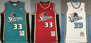 33# Grant Hill Detroit Pistons 1998-99 Hardwood Classics Men's Swingman Jersey