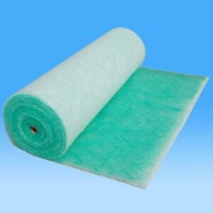 Spray Booth Extract Filter  (Paint Stop)  1mx20mx50mm paint booth filter roll