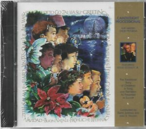 EPCOT Candlelight Processional Massed Choir CD (NEW SEALED!) Louis Gossett, Jr.