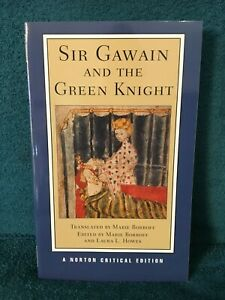 Sir Gawain and the Green Knight by Marie Borroff (A Norton Critical Edition)
