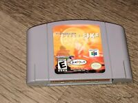 Top Gear Hyper Bike Nintendo 64 N64 Cleaned & Tested Authentic