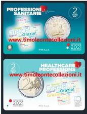 Italia   2€ 2021 Professioni Mediche coincard prevendita